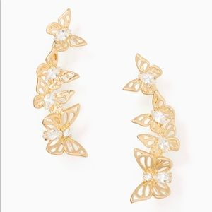 Kate Spade Social Butterfly Climber Earrings
